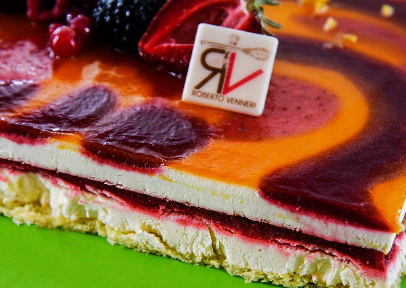 torta Arlecchino Roberto Venneri